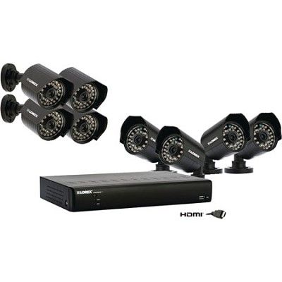 ECO BlackBox+ Surveillance 1TB DVR System with 8 Outdoor Cameras