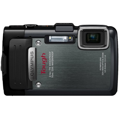 TG-830 iHS STYLUS Tough 16 MP 1080p HD Digital Camera - Black - OPEN BOX