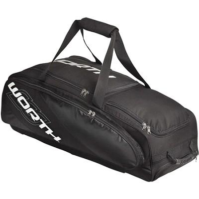 Coach/Catcher Travel Equipment Bag , Black