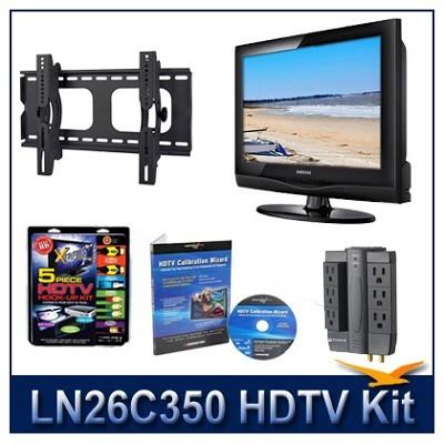 LN26C350 HDTV + Hook-up Kit + Power Protection + Calibration + Tilt Mount