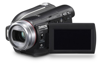 HDC-HS100K High Definition Camcorder, 60GB Hard Disk - OPEN BOX