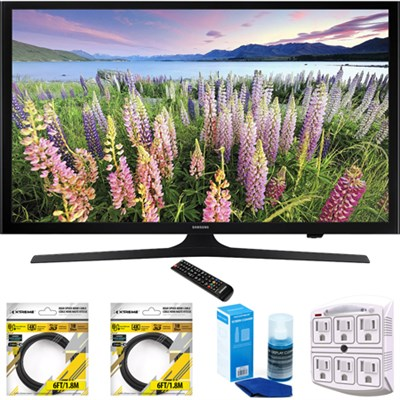 50-Inch Full HD 1080p LED HDTV 2015 Model UN50J5000 with Cleaning Bundle
