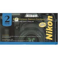 2 year extended warranty by Nikon For the D200 & D300 Digital Cameras