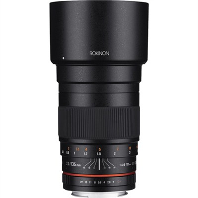 135mm F2.0 ED UMC Telephoto Lens for Canon DSLR - OPEN BOX