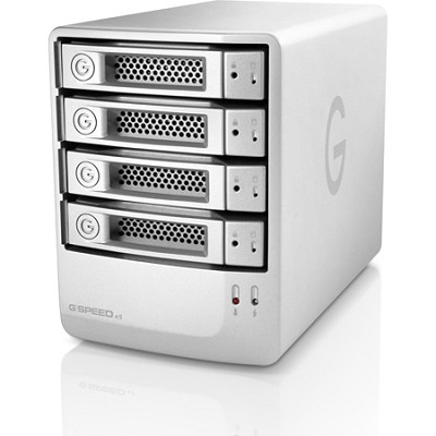 G-SPEED eS 8 TB High-Performance eSATA RAID Storage for SD/HD Production