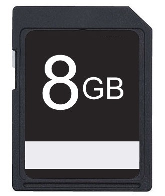8GB SDHC High Speed Memory Card