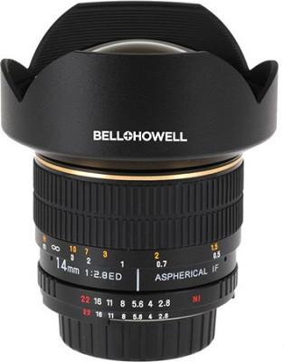 14mm f/2.8 IF ED MC Aspherical Super Wide Angle Lens for Nikon DSLR Cameras w/A