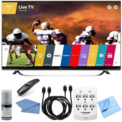 60UF8500 - 60-Inch 2160p 240Hz 3D 4K LED UHD Smart TV w/ WebOS Hook-Up Bundle