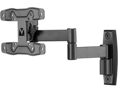 SF213 - Full Motion Wall Mount for Screen up to 27`- (Extends 13` from wall)