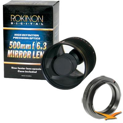 ED500M - 500mm f/6.3 Multi-Coated ED Mirror Lens for Nikon