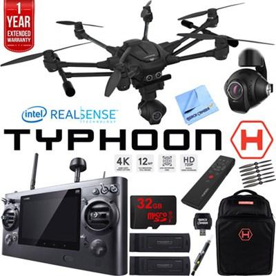 TYPHOON H RTF Drone w/ Intel RealSense Tech Ultimate Bundle