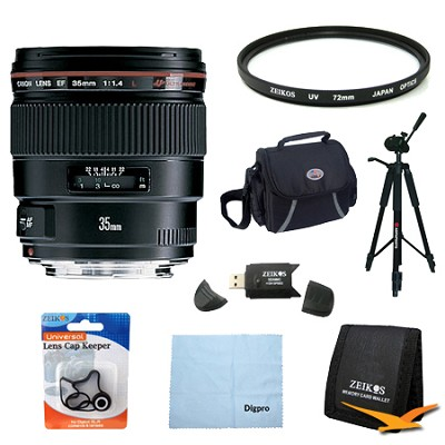 35mm f/1.4L USM Lens Exclusive Pro Kit