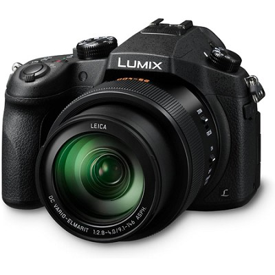LUMIX FZ1000 4K QFHD/HD 20.1MP 16X Long Zoom Black Digital Camera