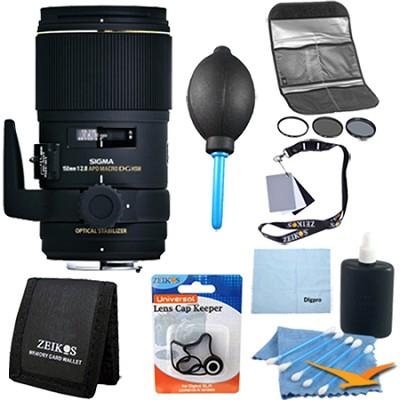 AF 150mm F2.8 APO MACRO EX DG OS HSM F/NIKON DSLRs - Pro Lens Kit