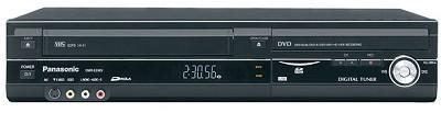 DMR-EZ48VK - DVD Recorder/HiFi VCR Combo w/ built-in TV tuner - REFURBISHED
