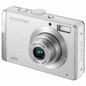 L201 10.2MP 2.7` LCD Digital Camera (Silver)