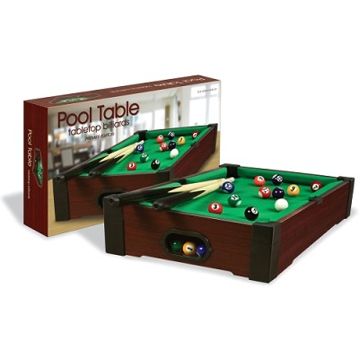TableTop Premier Edition Burgundy '8 Ball' Billiards Pool Table