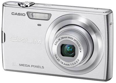 Exilim Z250 9.1 Megapixel Camera (Silver) - Open Box