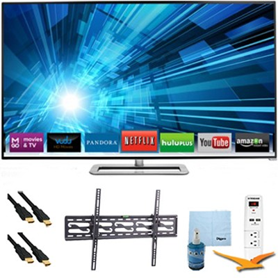 47` 1080p 120Hz Smart Razor LED HDTV Plus Tilt Mount & Hook-Up Bundle - M471I-A2