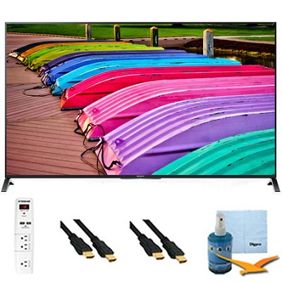 70` 3D 4K Ultra HD TV Motionflow XR 240 Smart TV Plus Hook-Up Bundle XBR70X850B