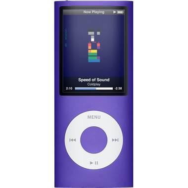 iPod Nano 4th Generation 16GB MP3 Player - Purple