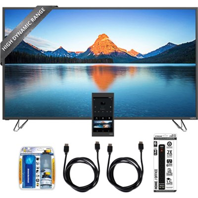 M55-D0 55-Inch 4K Ultra HD HDR TV Home Theater Display w/ Essential Bundle