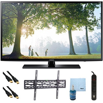 UN65H6203 - 65` 120hz Full HD 1080p Smart TV Tilt Mount & Hook-Up Bundle