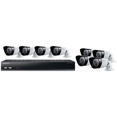 16CH 8 IP66 600TVL Cameras DVR Security System with 1TB HDD