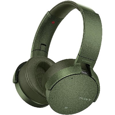XB950N1 Noise Canceling Extra Bass Wireless Bluetooth Headphones, Green
