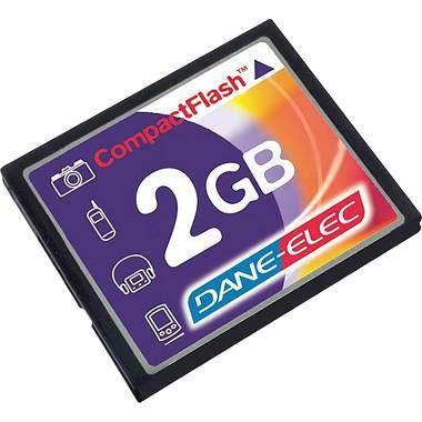 2GB Compact FlashMemory Card ( A Necessity)
