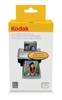 160-pack Color Cartridge/Photo Paper Kit for the Printer Docks