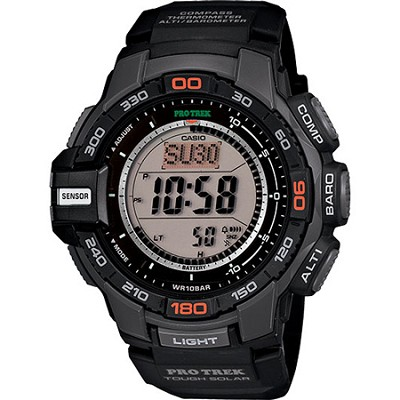PRG270-1 Pro Trek Solar Powered Triple Sensor Sport Watch