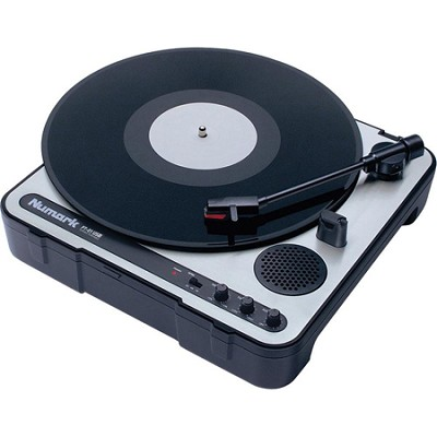 PT-01USB Portable Vinyl-Archiving Turntable