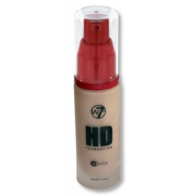 HD 12 HR Liquid Foundation, Pump - Natural Beige, 30ml/1.01fl oz
