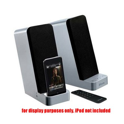 IH70SRC Computer Stereo Speaker System with Dock for iPod (Silver) - Open Box