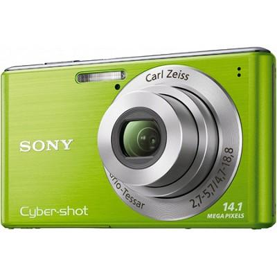 Cyber-shot DSC-W530 Green Digital Camera - OPEN  BOX