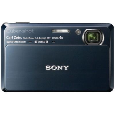 Cyber-shot DSC-TX7 10.2 MP Digital Camera w/ 3.5` Touch LCD (Blue) - OPEN BOX