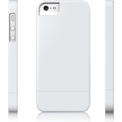 Protective Slider Case for iPhone 5 White