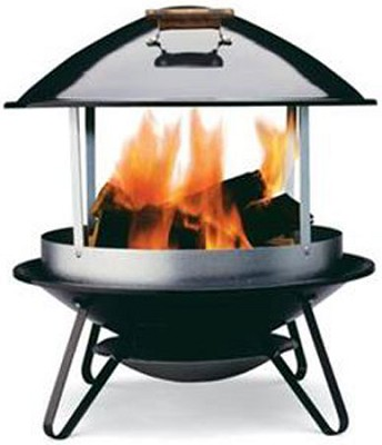 2726 Wood Burning Fireplace