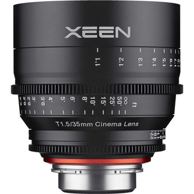 Xeen XN35-PL 35mm T1.5 Professional Cine Lens for PL