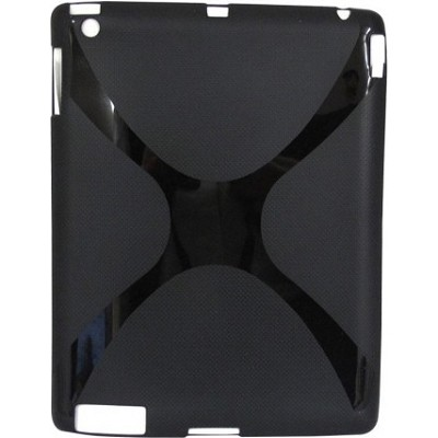 Flexible TPU Skin for iPad 2 Tablet PC- Black