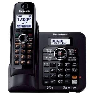 KX-TG6641B DECT 6.0 Expandable Digital Cordless Phone System
