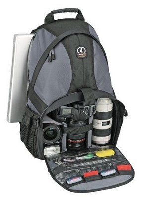Adventure 9 Photo/Computer Backpack (Grey/Black)