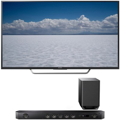 XBR-55X700D - 55` Class 4K Ultra HD TV with Sony HT-ST9 7.1 Channel Sound Bar