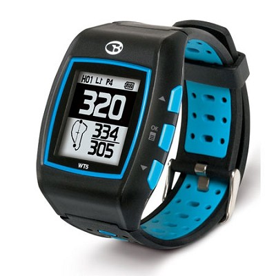 WT5 Golf GPS Watch, Black/Blue