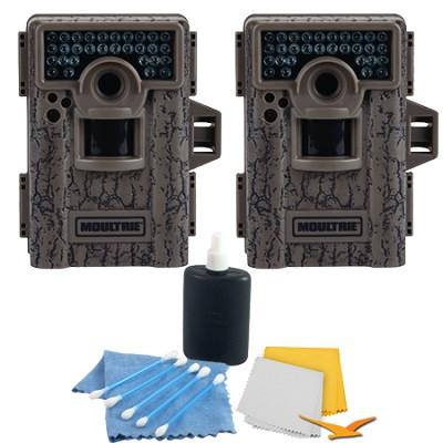 2-Pack M-880 8MP Low Glow Infrared Mini Game Camera