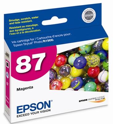 Magenta Ink Cartridge - UltraChrome HighGloss 2, Stylus Photo R1900