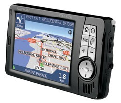 iCN 520 in-car/handheld Advanced GPS Navigation Receiver