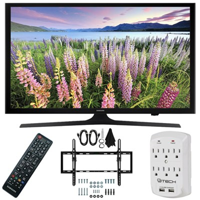UN50J5000 - 50-Inch Full HD 1080p LED HDTV Flat & Tilt Wall Mount Bundle