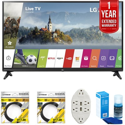 55-inch Full HD Smart TV 2017 Model 55LJ5500 with Extended Warranty Kit